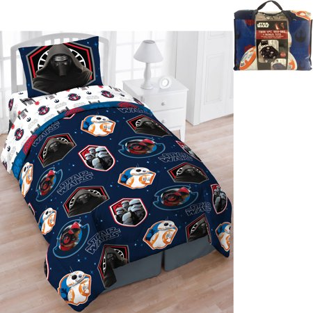 Star Wars Bed In A Bag 5 Piece Twin Bedding Set With Bonus