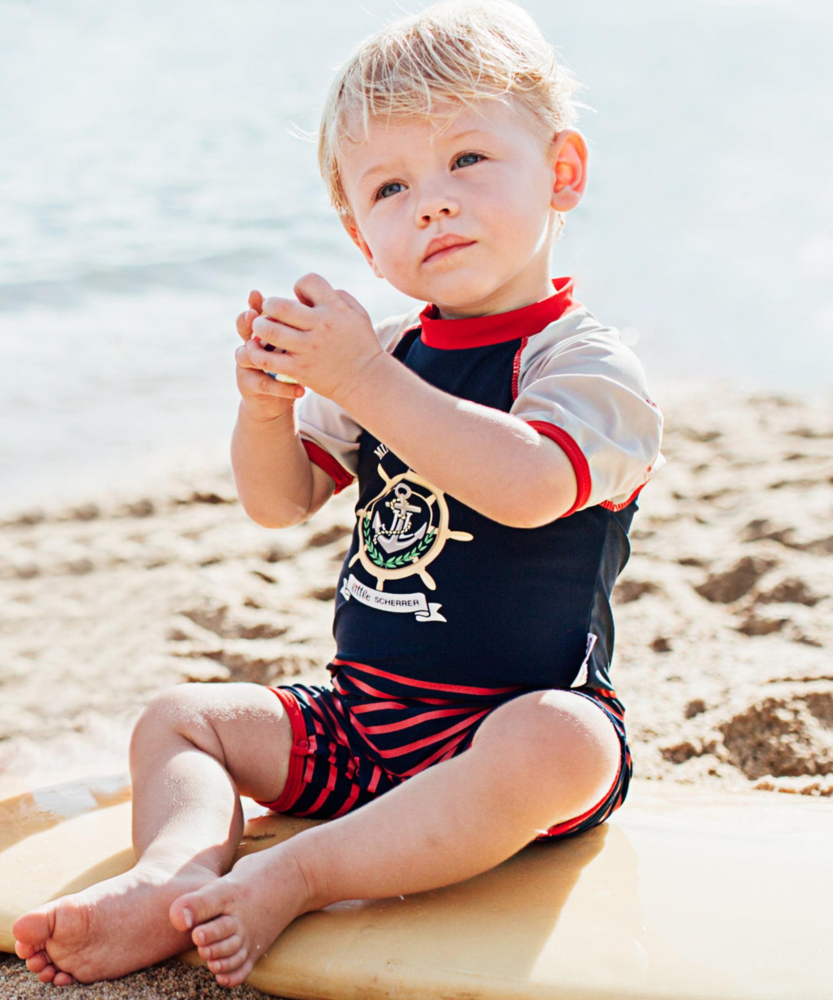 Boys Mini Yacht Club UV Sunsuit