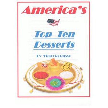 Top Ten Dining Desserts - eBook - Top 10 Halloween Desserts