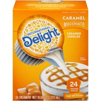 (4 Pack) International Delight Caramel Macchiato Creamers, 24 Ct