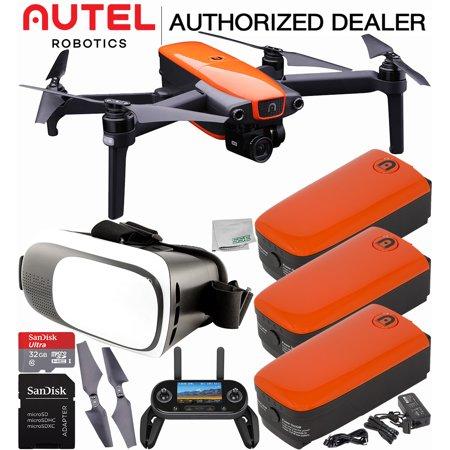 Autel Robotics EVO Foldable Quadcopter with 3-Axis Gimbal Ultimate Virtual Reality Bundle