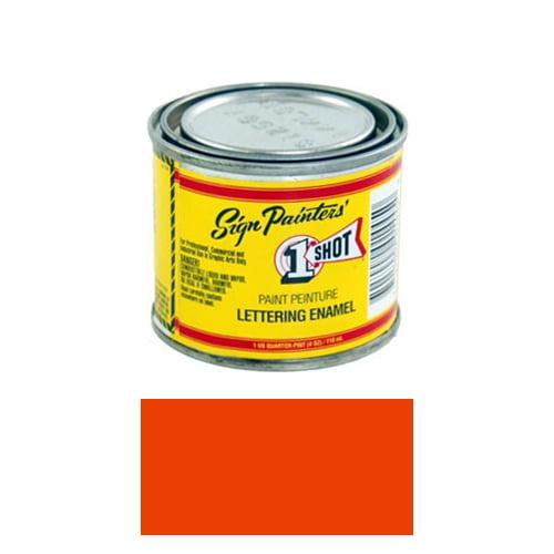 1/4 Pint 1 Shot VERMILLION Paint Lettering Enamel Pinstriping & Graphic Art