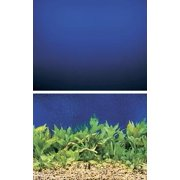 "Penn-Plax Double Blue Sea Amazing Background, 12"" x 50`"