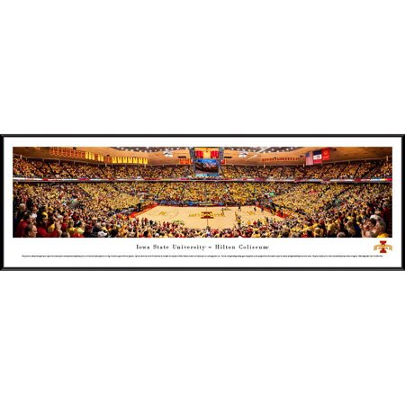 Iowa State Cyclones Basketball   Blakeway Panoramas Ncaa College Print With Standard Frame