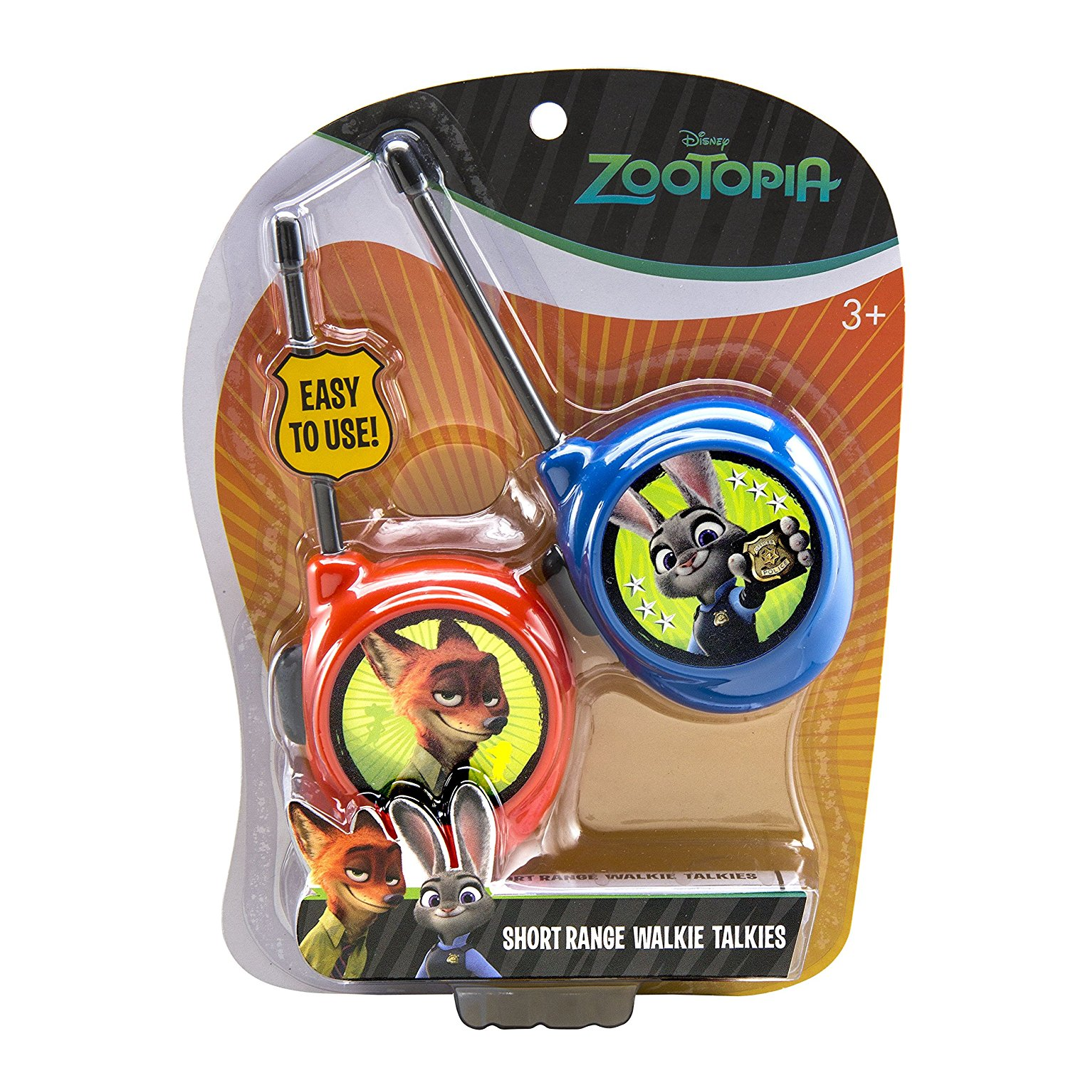 Zootopia Character Walkie Talkies Playset