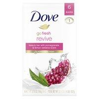 Dove Beauty Bar Pomegranate and Lemon Verbena 3.75 oz 6 Bars