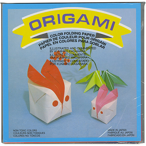 "Origami Paper 5.875"" x 5.875"", 500pk, Assorted Colors"
