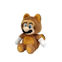 "Little Buddy LLC, Tanooki Raccoon Mario 9"" Plush"