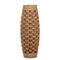 Elegant Expressions by Hosley Large Burlap Vase, 1 Each