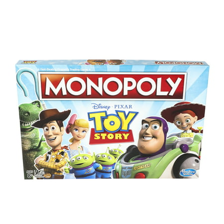 Monopoly Toy Story Board Game Family and Kids Ages 8+ - Games For 8 Year Old