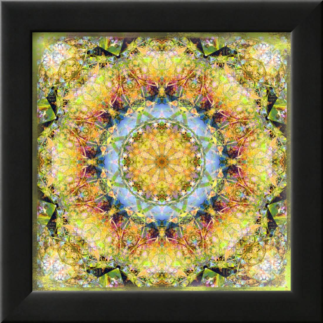 Energy Sun Framed Print Wall Art By Alaya Gadeh - Walmart.com