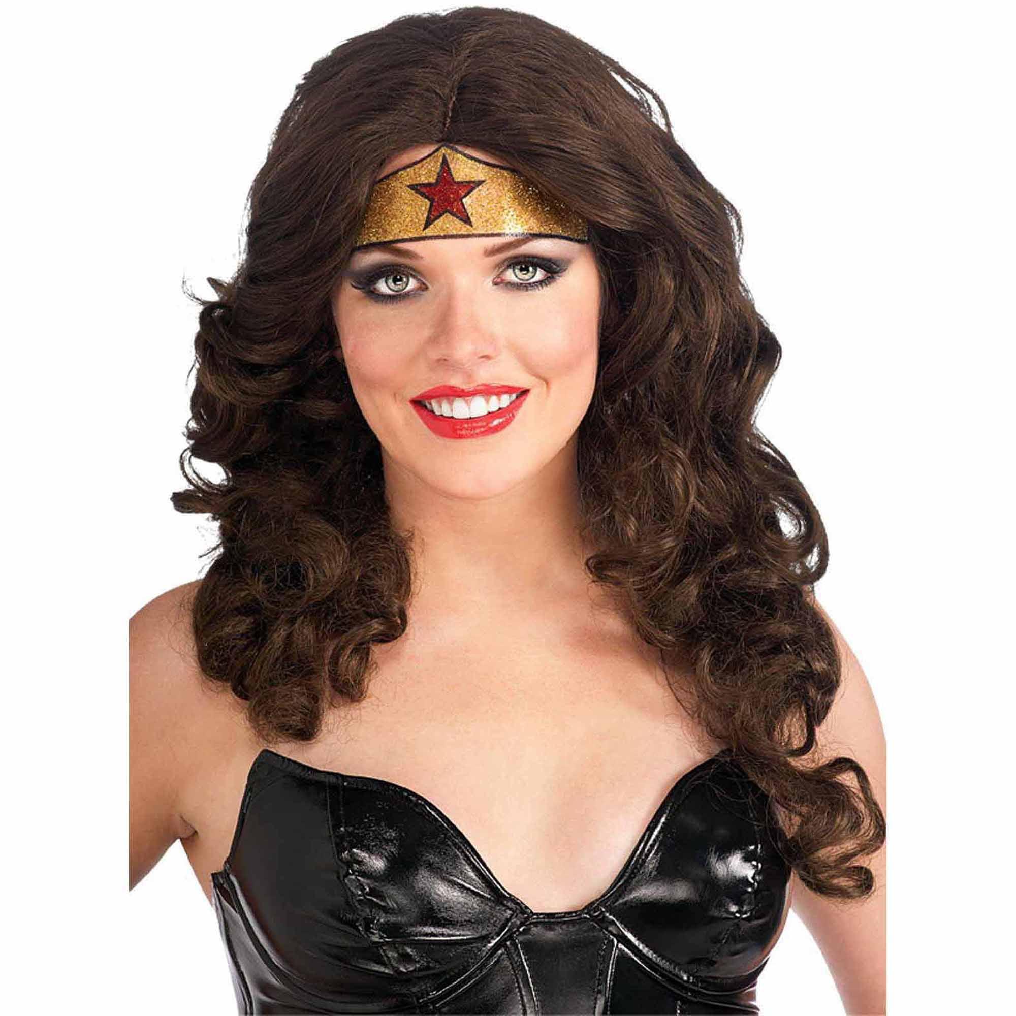 Wonder Woman Crown Tattoo Adult Halloween Accessory