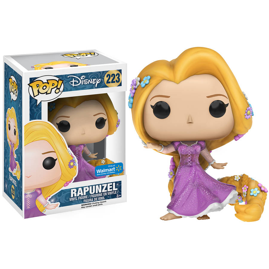 Funko POP! Disney Tangled Sparkle Dress Rapunzel Vinyl Figure, Walmart Exclusive