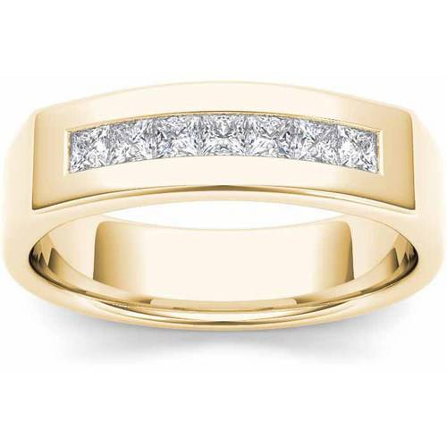 Imperial 1/2 Carat T.W. Diamond Men's 14kt Yellow Gold Wedding Band