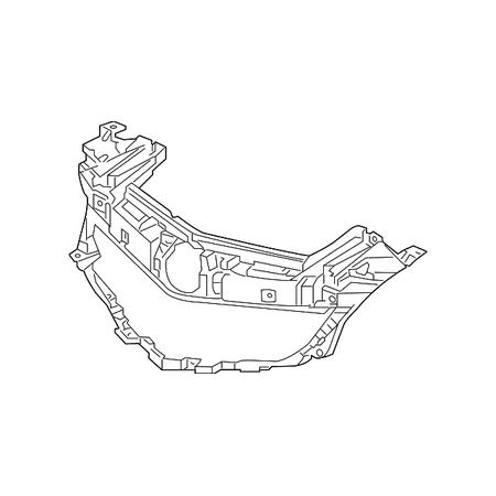 Genuine OE Acura Grille Bracket -