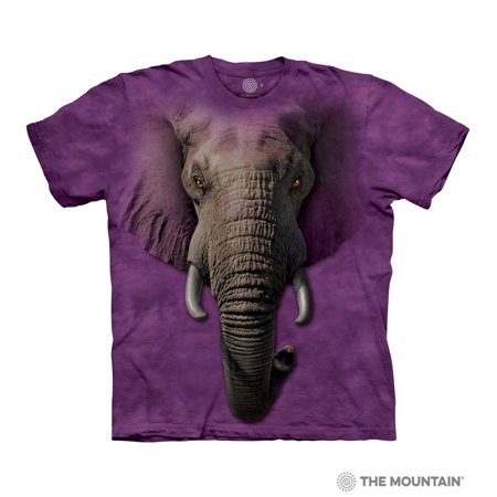 dbd628c106ee Tuff America - The Mountain ELEPHANT FACE Adult Unisex T-Shirt - Walmart.com