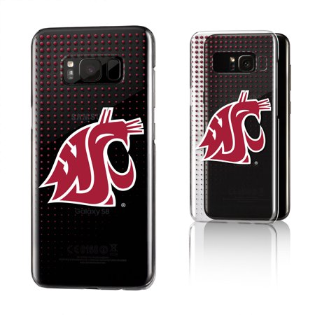 WSU Washington State Cougars Dots Clear Case for Galaxy