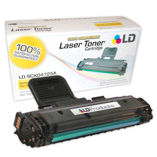 LD Compatible Alternative to Samsung SCX-D4725A Black Laser Toner Cartridge
