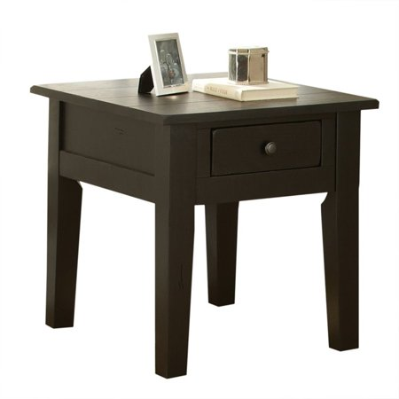 Steve Silver Liberty End Table in Antique Black - image 3 de 3