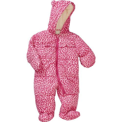 Child of Mine by Carter's Newborn Baby Girls' Hooded Puffer Pram