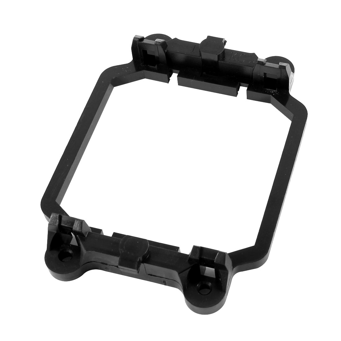 Unique Bargains Black Plastic AMD CPU Cooling Fan Bracket Base for AM2 AM3 Socket