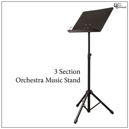 Professional Maestro Metal Black Music Note Sheet Folding Stand Heavy Duty,WMLS1837