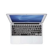 "KB Covers Large Type (Clear w/ Black Buttons) Keyboard Cover for MacBook Air 11"" (LT-M11-CB)"