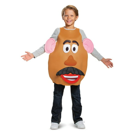 Mr And Mrs Claus Costume (Mrs. & Mr. Potato Head Deluxe Child Halloween Costume - Toy Story)