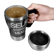 Evelots Self Stirring Travel Mug