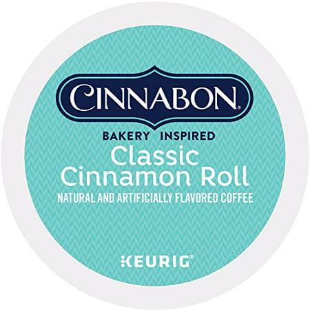 Keurig Classic Coffee K-Cups, Cinnabon Cinnamon Roll, 24 Count (Keurig Coffee 180 Count)