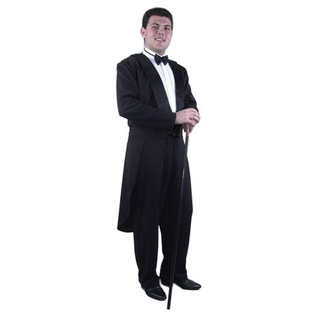 Adult Tux Jacket Including Tie, Tail and Pants - Tie Costume