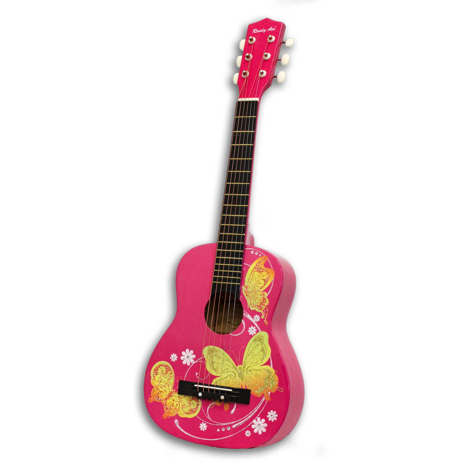 "Acoustic Guitar Pink Butterfly, 30"" by Generic"