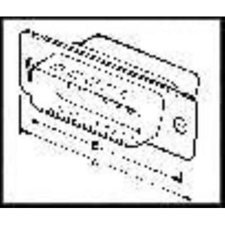5X Te Connectivity/Amp 1658641-2 D Sub Shell Plug, Size 5