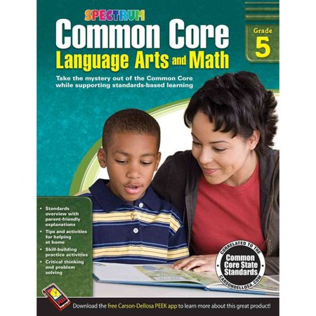 Common Core Language Arts And Math  Grade 5