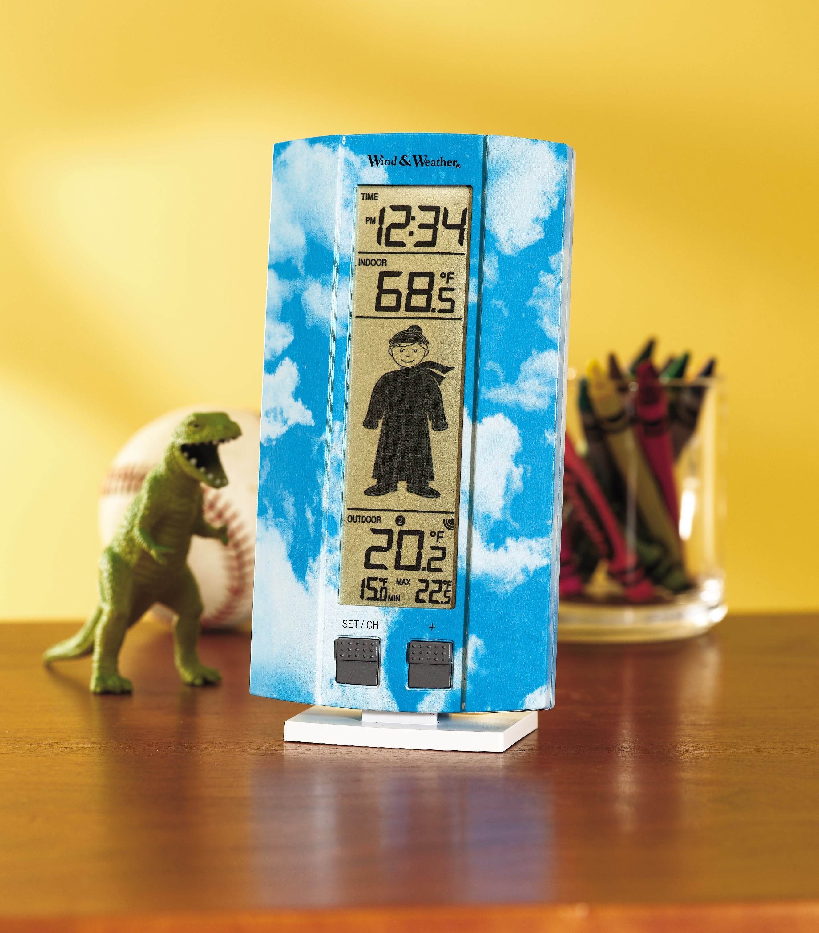 Click here to buy My First Weather Station w  a Kid-Friendly Forecast Icon, Boy by Problem Solvers.