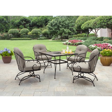 Better Homes And Gardens Myrtle Creek 5 Piece Outdoor Dining Set Box 2 Of 2