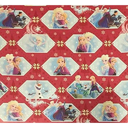 frozen wrapping paper - Frozen Wrapping Paper