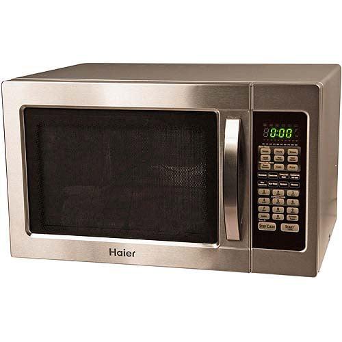 Haier Stainless Steel 1000 Watt Microwave Oven Bestmicrowave
