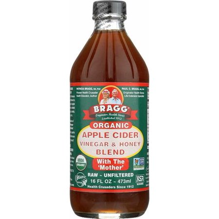 Bragg Organic Apple Cider Vinegar Blends, Honey Blend - 16