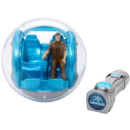 Jurassic World RC Vehicle Gyrosphere Vehicle with Owen Action Figure