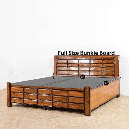"WAYTON, 1.5 Fully Assembled Split Foundation Bunkie Board, Full Size 74"" x 53"""