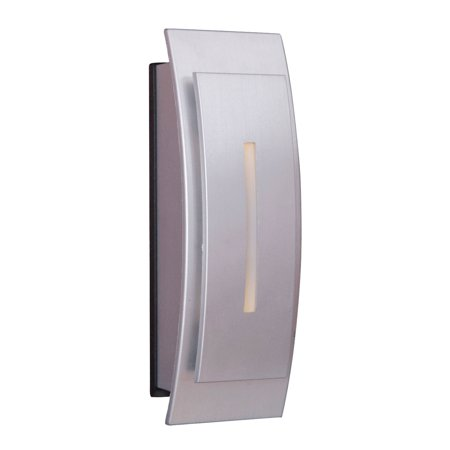 - Craftmade Teiber TB1020 Contemporary Curved LED Illuminated Doorbell Touch Button