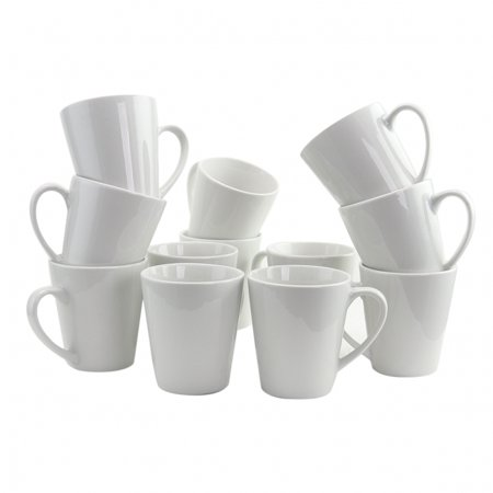 Gibson Home Noble Court 12 Piece 12 oz. Mug Set in (Suomi White Mug)