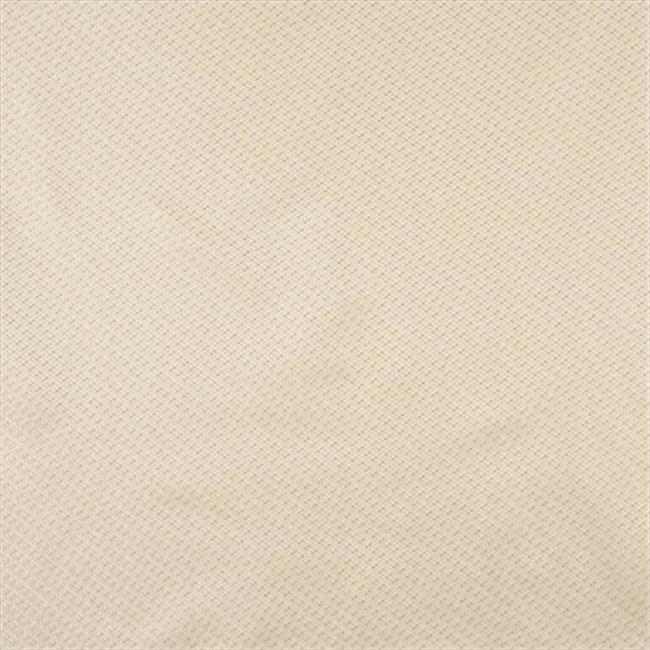 Designer Fabrics F590 54 in. Wide Ivory, Tweed Damask Upholstery And Drapery Grade Fabric