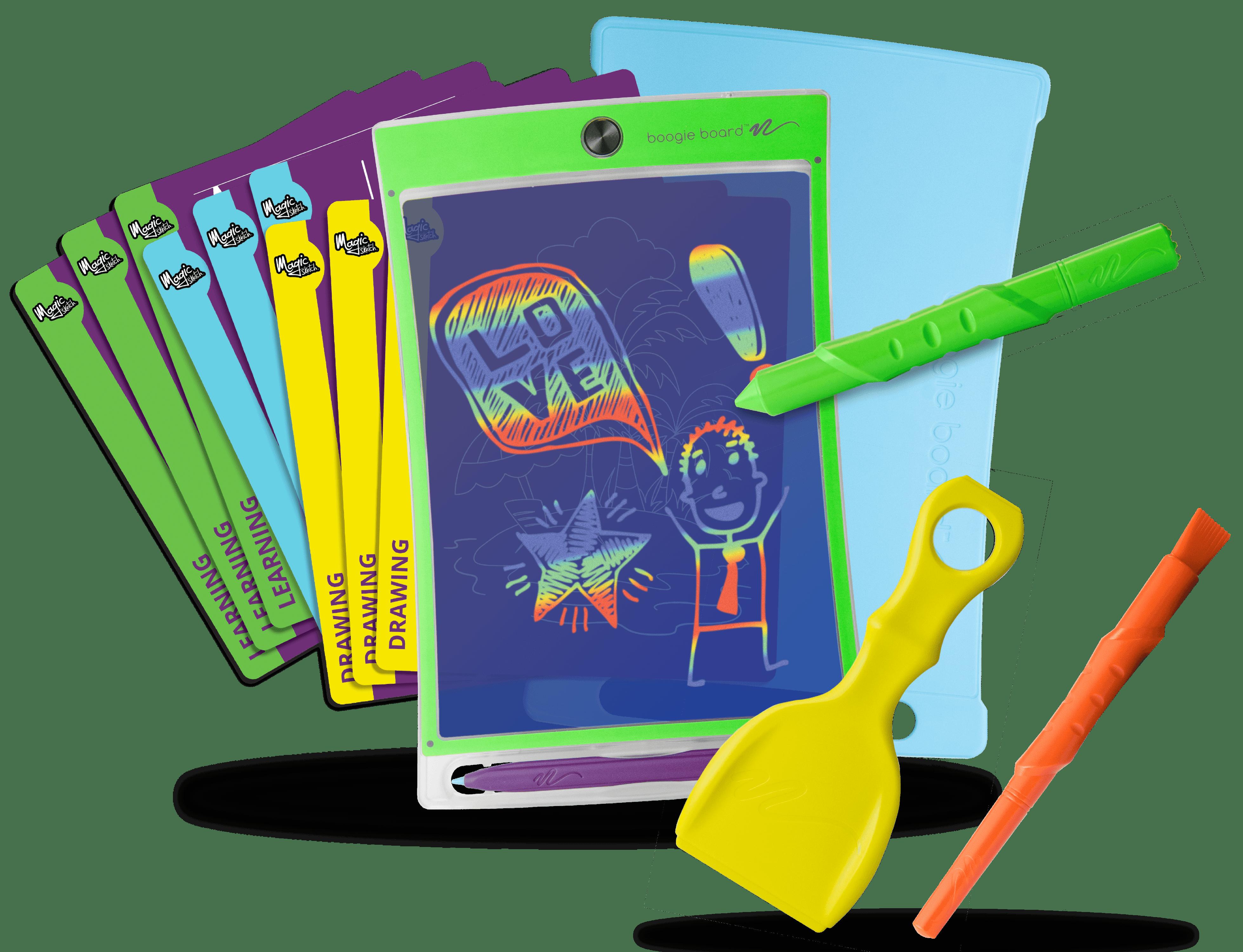 Boogie Board Magic Sketch Deluxe With Case Brickseek
