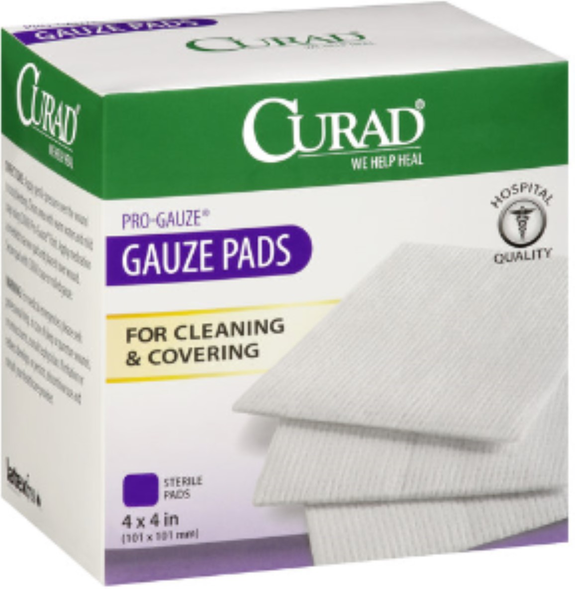 "Curad Sterile Pro-Gauze Pads 4"" x 4"" 10 ea (Pack of 4)"