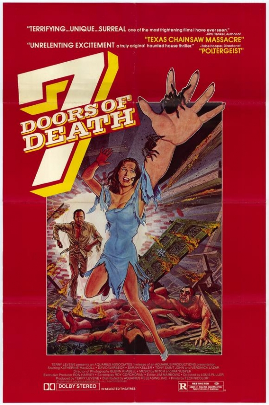 Click here to buy 7 Doors of Death Movie Poster Print (27 x 40) by Pop Culture Graphics.