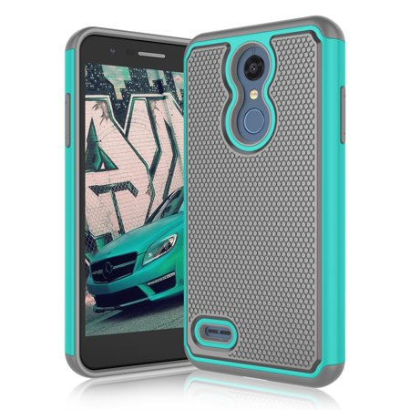 Ritchey Pro Drop (LG Premier Pro LTE / K10 (2018) / K30 / K10+ 2018 / K10α 2018 / K10 Alpha / K10 Plus 2018 Cases, Njjex [Shock Absorption] Drop Protection Hybrid Dual Layer Armor Defender Protective Case Cover -Mint)