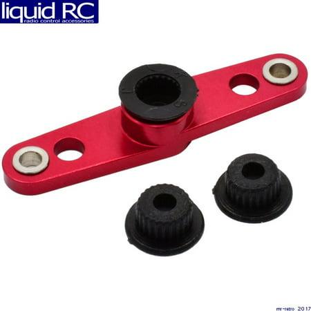 Hot Racing SH338A02 Red I Shaped CNC Alum. Servo Arm Aluminum Cnc Servo Arm