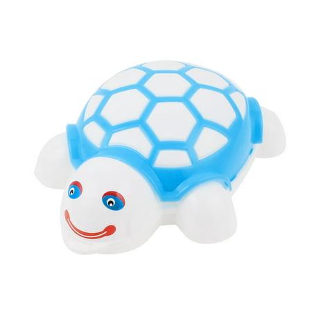 Unique Bargains Blue Plastic Shell Tortoise Shape Push Roller Cleaning Brush for Carpet Mat (Carpet Roller Brush)